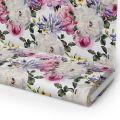 Tkanina STRECZ PANAMA D404-118 Kwiaty