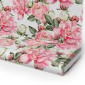 Tkanina STRECZ PANAMA D404-282 Kwiat Róży