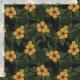 Tkanina wodoodporna OXFORD D434-186-01 Polne Kwiaty