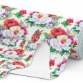 Tkanina wodoodporna OXFORD D434-102-01 Kwiaty