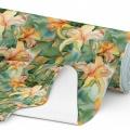 Tkanina wodoodporna OXFORD D434-115 Kwiaty Malowane Farbami
