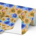 Tkanina wodoodporna OXFORD D434-127 Kwiaty Malowane Farbami