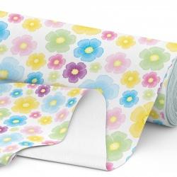 Tkanina wodoodporna OXFORD D434-161 Malowane Kwiaty