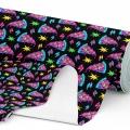 Tkanina wodoodporna OXFORD D434-204-01 Pizza Pop Art
