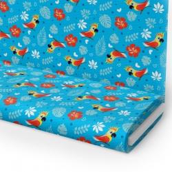 Tkanina STRECZ PANAMA D404-344-01 papuga