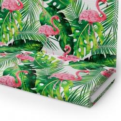 Tkanina STRECZ PANAMA D404-693-01 flamingi