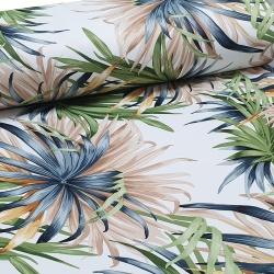 Tkanina zasłonowa Blackout Tropical Flowers 280 856-01