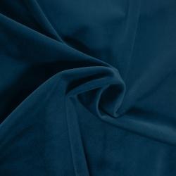 Tkanina na zasłony welur dekoracyjny Velvet 260g 873-69 granatowy