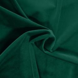 Tkanina na zasłony welur dekoracyjny Velvet 260g 873-26 zieleń butelkowa