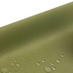 Tkanina obrusowa GOLD 401-22 oliwka ciemna