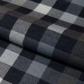 Tkanina FLANELA KRATKA 437 szaro-biało-czarna