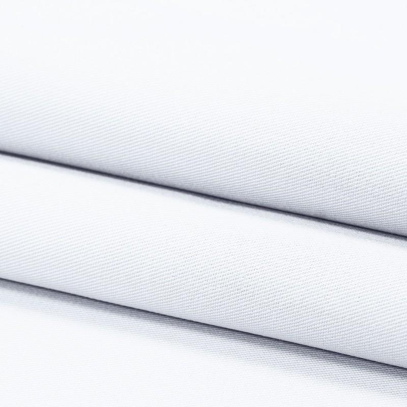 Tkanina 65% poliester 35% bawełna 411-01 biały