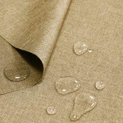 Tkanina wodoodporna LEN IMITACJA 184-021-03 beż