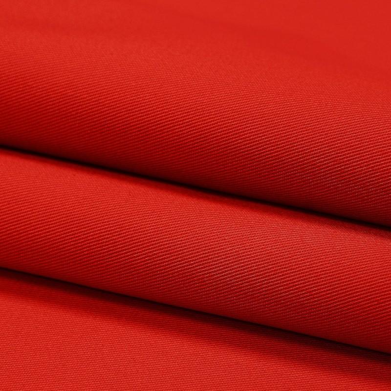 Tkanina 65% poliester 35% bawełna 411-12 czerwony
