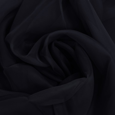 Tkanina WOAL GŁADKI 438-34 czarny