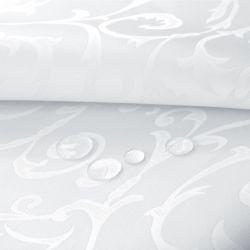 Tkanina Obrusowa JACQUARD 112-01 biały