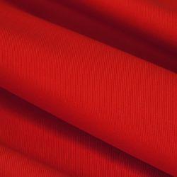 Tkanina 65% poliester 35% bawełna 371-12 czerwony