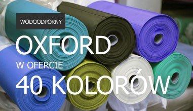 Wodoodporny OXFORD